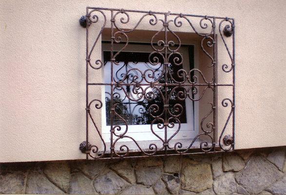 Kovane okenske mreže